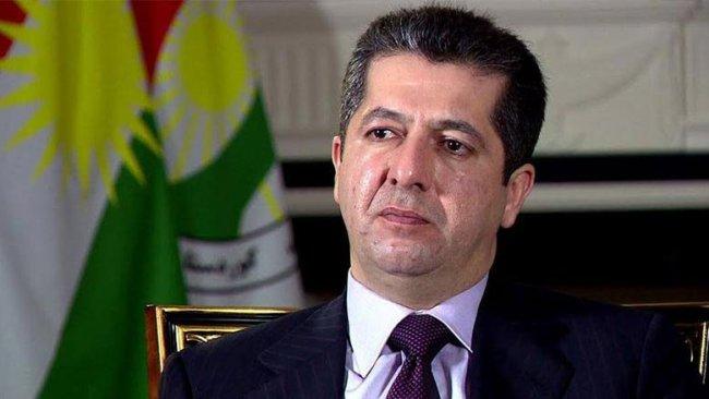 Mesrur Barzani'den başsağlığı mesajı