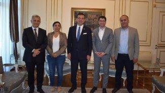 HDP'den Ekrem imamoğlu'na ziyaret