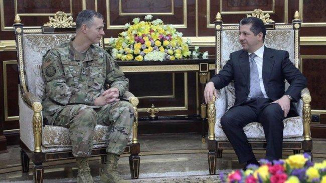 Mesrur Barzani, koalisyon heyetini kabul etti
