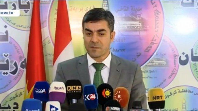 Rebwar Talabani: Kerkük dosyası Irak Anayasası'nın sorunudur