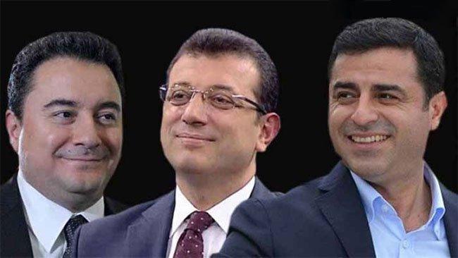 Demokrasinin geleceği için üç isim: Demirtaş, İmamoğlu, Babacan