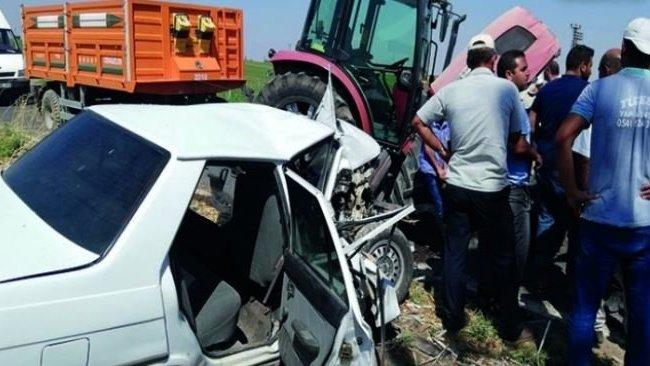 Urfa'da kaza: 1 ölü