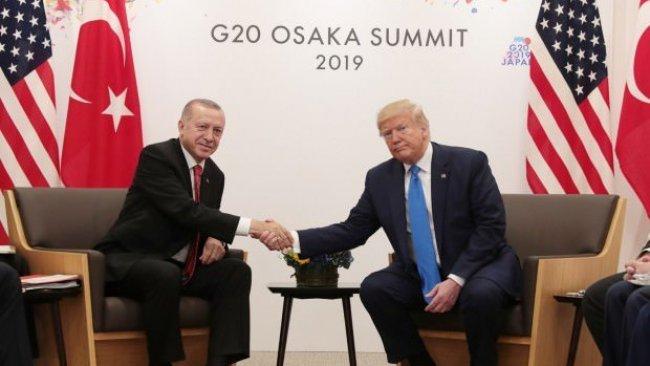 ABD'de Trump-Erdoğan görüşmesine tepki