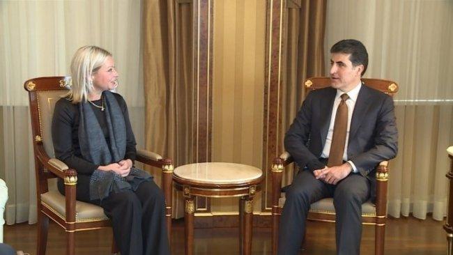 Başkan Neçirvan Barzani, BM heyetini kabul etti