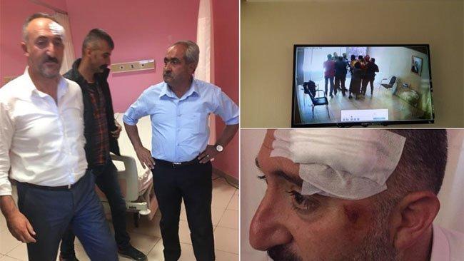 Diyadin Belediyesi'ne polis baskını: Eşbaşkan hastanelik oldu