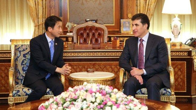 Güney Kore'den Başkan Neçirvan Barzani'ye davet