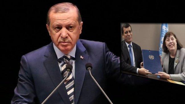 Erdoğan'dan BM'ye DSG tepkisi