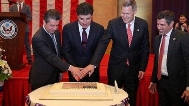 Neçirvan Barzani ve Mesrur Barzani ABD Bağımsızlık Günü törenine katıldı
