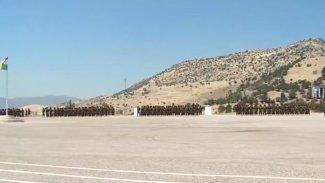 Peşmergelerin 45 günlük modern savaş eğitimi tamamlandı