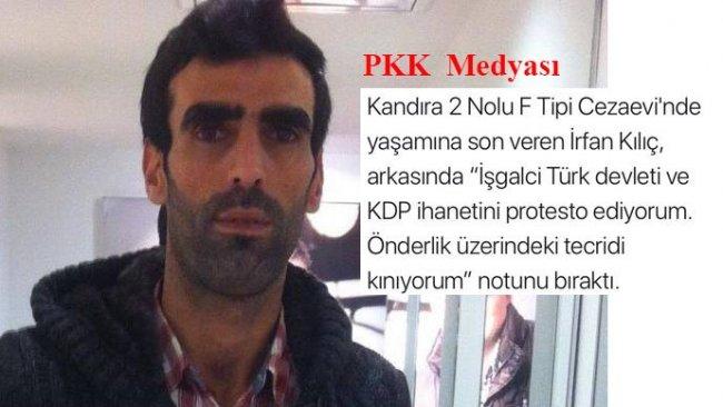 PKK medyası kendini yaktı demişti.. İrfan Kılıç'ın bedeninde yara izleri var