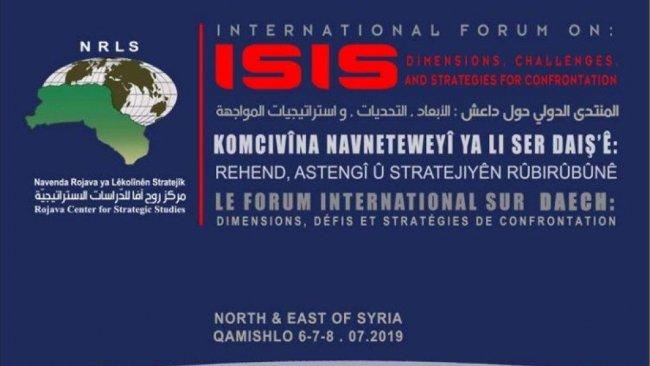Rojava'da IŞİD konulu forum başladı