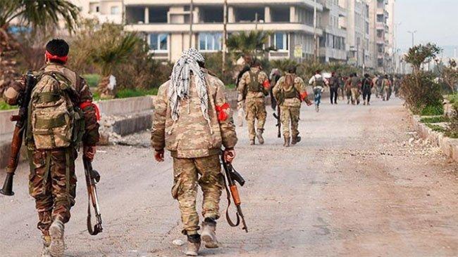 Afrin'de yerel polis ve ÖSO grubu arasında çatışma