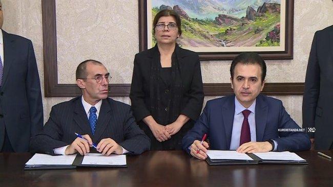 Erbil ve Paris'ten işbirliği protokolü