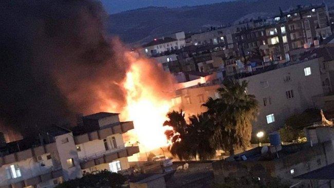 Reyhanlı'da patlama: Yaralılar var