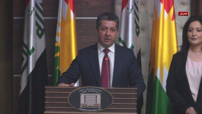 Mesrur Barzani Kürdistan hükümetinin yeni Başbakanı oldu