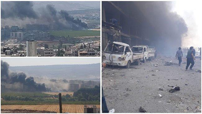 Afrin'de bombalı saldırı: Ölü sayısı yükseliyor