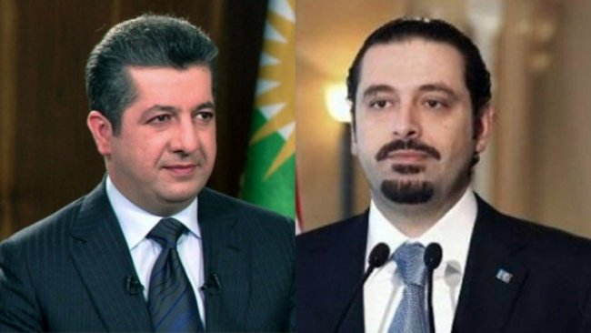 Hariri'den Mesrur Barzani'ye tebrik telefonu