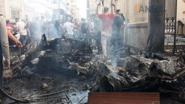 Kamışlo'da bomba yüklü araç infilak etti: 7 yaralı
