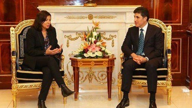 Paris Belediye Başkanı: Kürt kültürüne ve Peşmerge'ye hayran kaldım