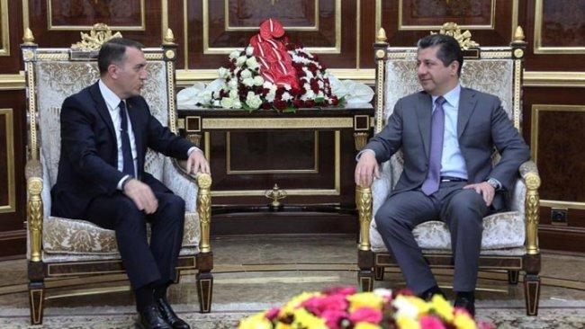 Başbakan Barzani Türk heyeti kabul etti