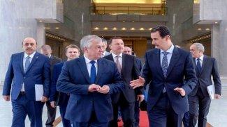 Rusya heyeti 'Anayasa ve İdlib' gündemiyle Suriye'de