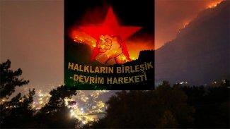 HDP'li vekilllerden HBDH'ye Orman yangını tepkisi