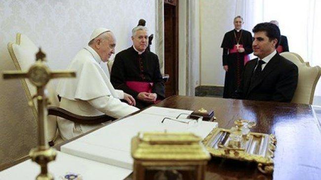 Papa Kürdistan Bölgesi'ni ziyaret edecek