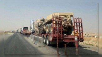 ABD'den DSG'ye 280 kamyon askeri ve lojistik destek