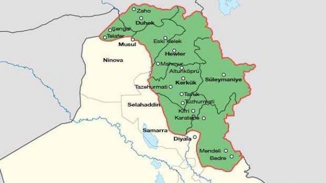 AB'den Kürdistan Bölgesi ve Irak'a 'tartışmalı bölgeler' talebi