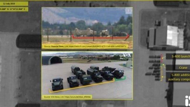 İsrail, Türkiye'ye teslimatı devam eden S-400'lerin uydu görüntülerini paylaştı