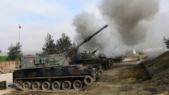 TSK, Halep'te YPG mevzilerini vurdu
