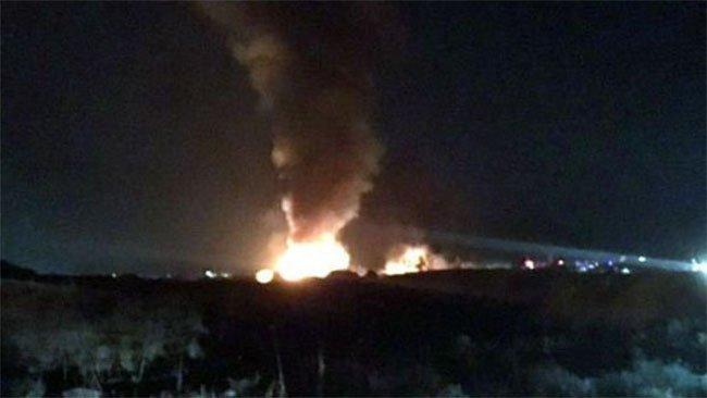 Peşmerge'ye ait İki silah deposunda patlama