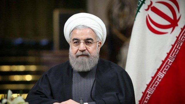 Ruhani, Macron'dan 'ABD ile İran arasında ateşkes sağlamasını' istedi