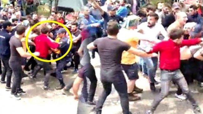 Trabzon'da Kürdistan atkılı turistlere linç girişimi