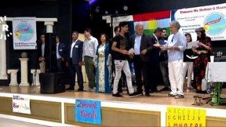 Kürtçe kursu mezunlarına sertifikaları verildi