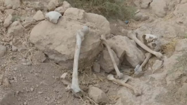 Irak'ta katledilen Kürtlere ait toplu mezar bulundu