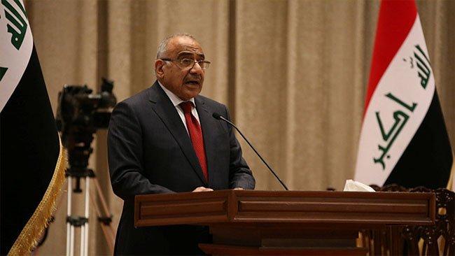 Abdulmehdi: Irak'ta hiçbir silahlı güce müsaade etmeyeceğiz