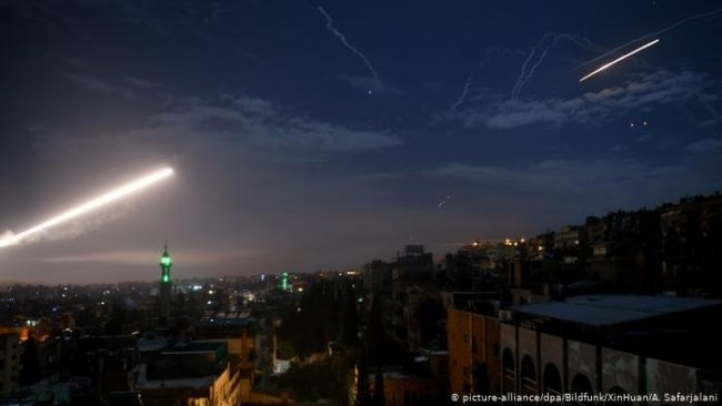 İsrail yine Süriye'yi vurdu