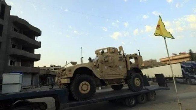 ABD askeri konvoyu, DSG kontrolündeki bölgeye girdi