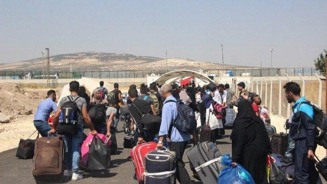 İstanbul'dan sınırdışı edilen Suriyeliler Afrin'e yerleştiriliyor