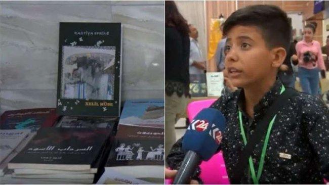 14 yaşındaki yazardan Afrin kitabı