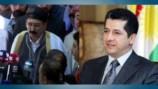 Başbakan Mesrur Barzani'den Ezidi Miri'ne destek