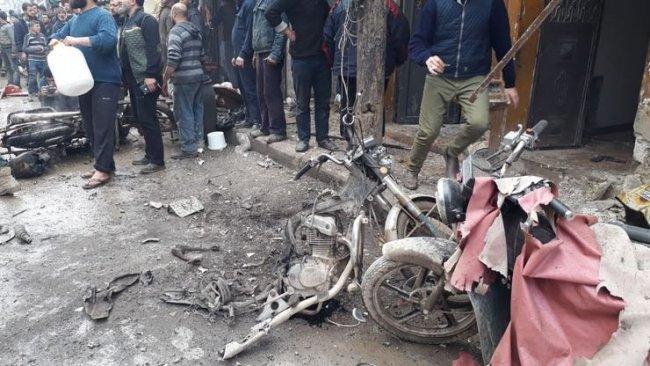 Efrin'de patlama...Ölü ve yaralılar var!