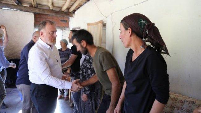 HDP'den Nupelda, Ayaz ve Engin'in ailelerine ziyaret