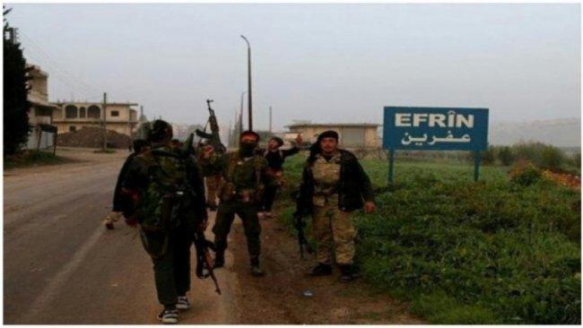 Afrin'de ÖSO'nun Kürt halkına karşı hak ihlalleri devam ediyor