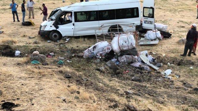 Diyarbakır'da feci kaza: Çok sayıda yaralı var