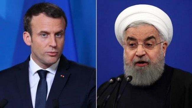 Ruhani'den Macron'a uyarı: Herkes kaybeder