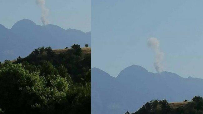 Türk savaş uçakları Amedi kırsalını bombaladı