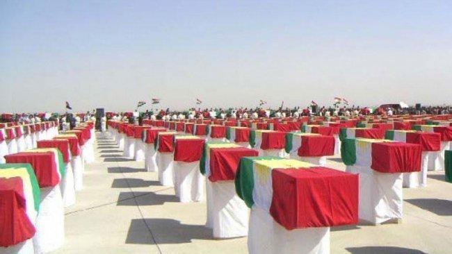Irak Savunma Bakanlığı'ndan ilk kez 'Enfal' başsağlığı