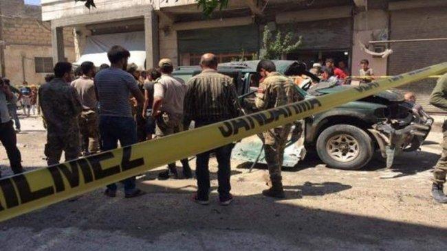 Bab'da patlama: ÖSO'nun üstdüzey komutanı öldürüldü